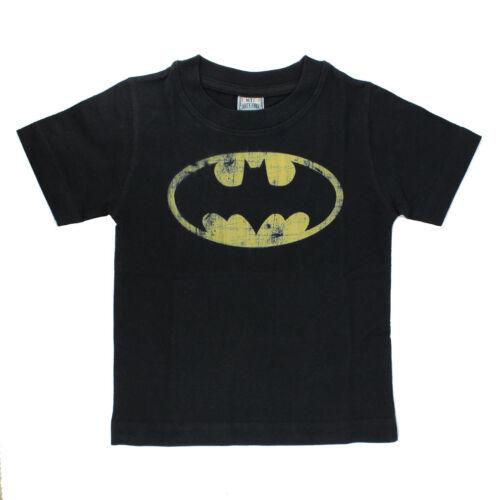 DC Comics Batman Kinder T-Shirt Bat Logo Batsignal