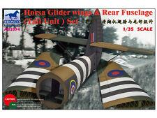 BRONCO ab3574 1/35 HORSA GLIDER Wings & fusoliera posteriore (Tail unit) SET NUOVO CON SCATOLA