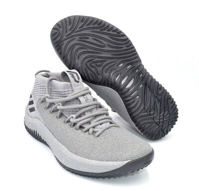 Adidas Dame 4 Grey Damian Lillard Mens