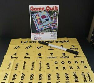 Game Quilt Fabric Panel