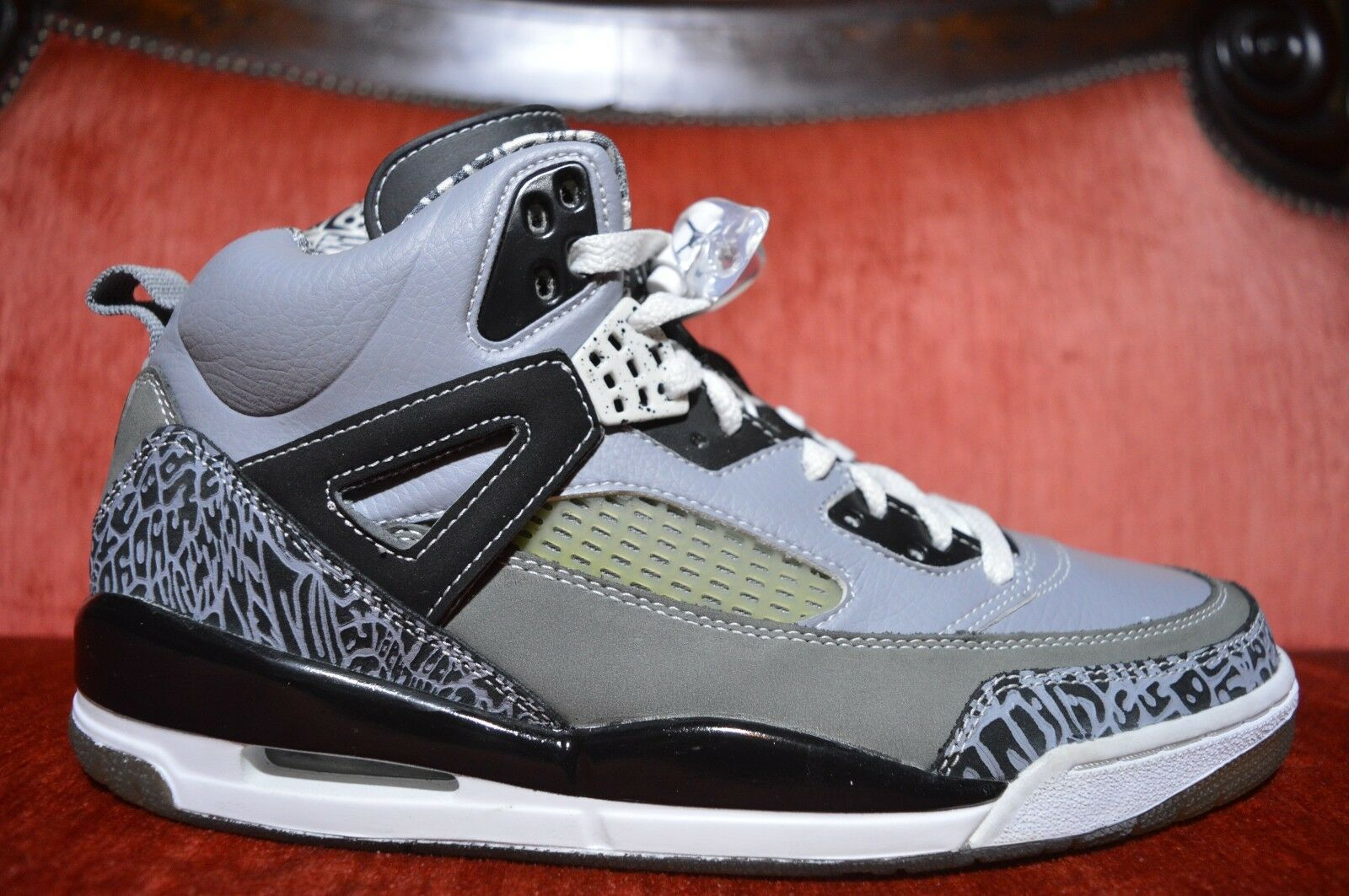 NEW Nike Air JORDAN SPIZIKE STEALTH BLACK WHITE GREY GRAPHITE 10.5 315371-091