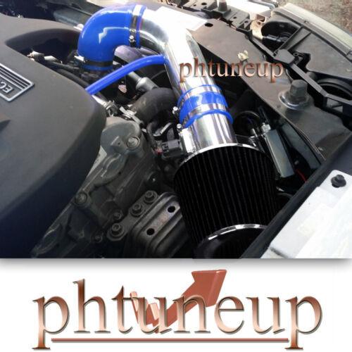 BLACK FILTER BLUE 2007-2009 PONTIAC G5 GT 2.2 2.2L 2.4 2.4L AIR INTAKE KIT
