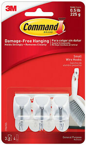 3M-Command-Small-Wire-Hooks-Damage-Free-Hanging-Holds-0-5lbs-225g-White-3-pc