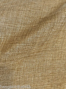 Oatmeal-Gold-Faux-Burlap-Linen-60-034-W-Vintage-Fabric-BTY-Tablecloth-Craft-Bags