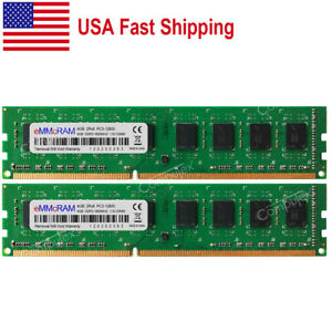 US-8GB-2x4GB-PC3-12800-DDR3-1600-240-pin-DIMM-NON-ECC-DELL-HP-Lenovo-IBM-Memory