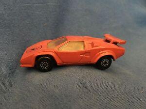 Vintage 1985 Lamborghini Countach Lp500s Matchbox Diecast Sports Car