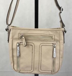 Tyler Rodan Cream Crossbody Shoulder Bag Purse Ebay