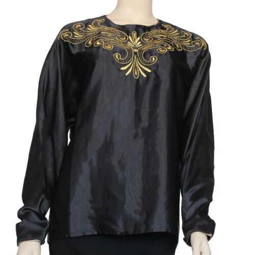 Vintage 1990's Laura & Jayne Collection Blouse Si… - image 1