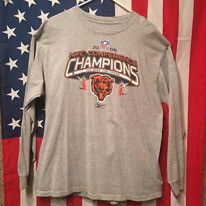 5b933b5e095 Vintage Chicago Bears Football Men s Long-Sleeve Thermal Shirt XL ...