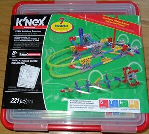 Intrucuction to simple machines: Wheels, Axles & Inclined Planes K'NEX STEM KNEX