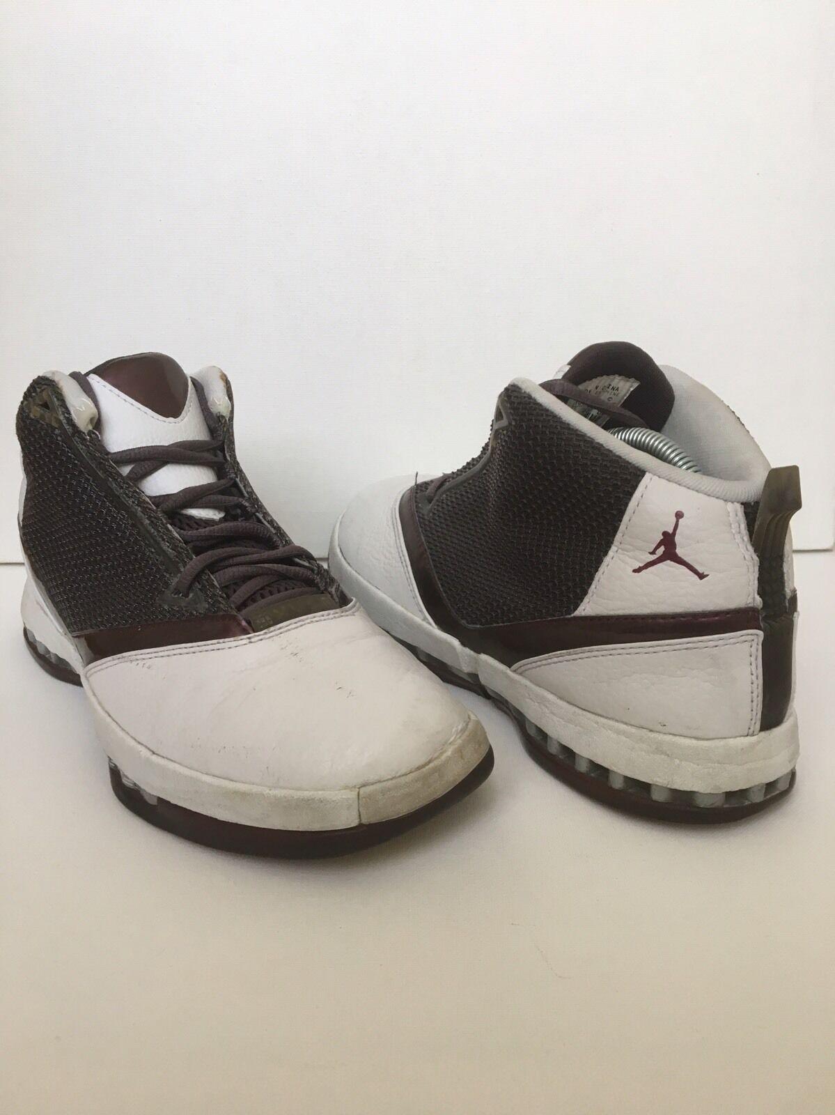 2018 Nike Air Jordan XVI XV1 16 Q Grey Cherrywood Red Size 9 Mens 136080-020