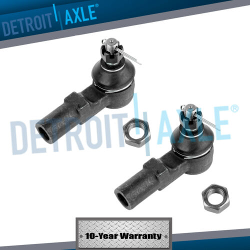 RWD No PreRunner Pair Front Outer Tie Rod Ends for 1995-2004 Toyota Tacoma 2WD