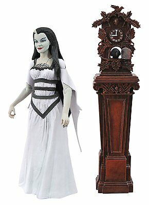 DIAMOND SELECT THE MUNSTERS RACEWAY LILY ACTION FIGURES NEW