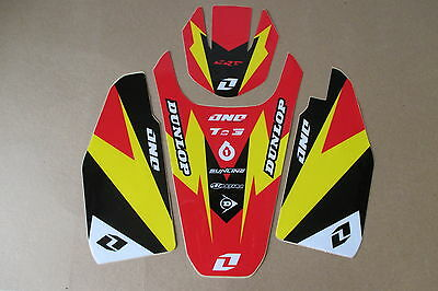 ONE INDUSTRS FORK GUARD  FRONT & REAR FENDER GRAPHIC HONDA CRF150R CRF GRAPHICS
