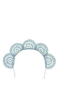 NEW-Olga-Berg-Claire-Lace-Headband-Pale-Blue