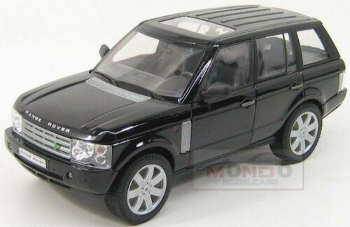 Land Rover Range 2003 Black Met Welly 1:24 WE22415BK Miniature