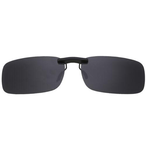 Sonnenbrille Brille Aufsatz Clip On Polbrille Sonnenbrillenaufsatz Zubehär DHL
