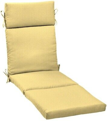 21 in. Chaise Lounge Cushion Outdoor, UV Resistant and ...