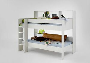 Childrens Kids Bunk Beds Twin Or Single With Desk Dresser
