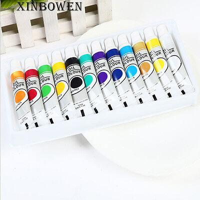 Professional 12 Color Fine Paint Oil Based Art Marker Pen Glass Metal Waterproof