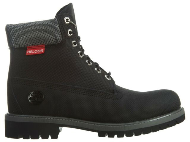 Helcor 6 Inch Scuff Proof Black BOOTS