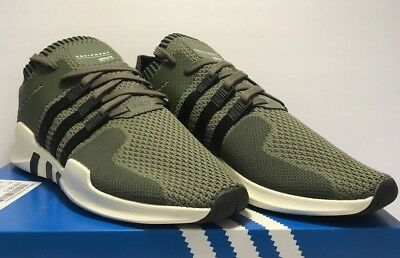 buy online 905ee 3b324 adidas EQT Support ADV Men's Size 11 Primeknit SNEAKERS Green White Black  BY9394