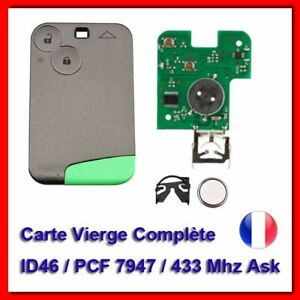 Electronic-key-card-with-blank-for-renault-laguna-2-4-space-vel-satis