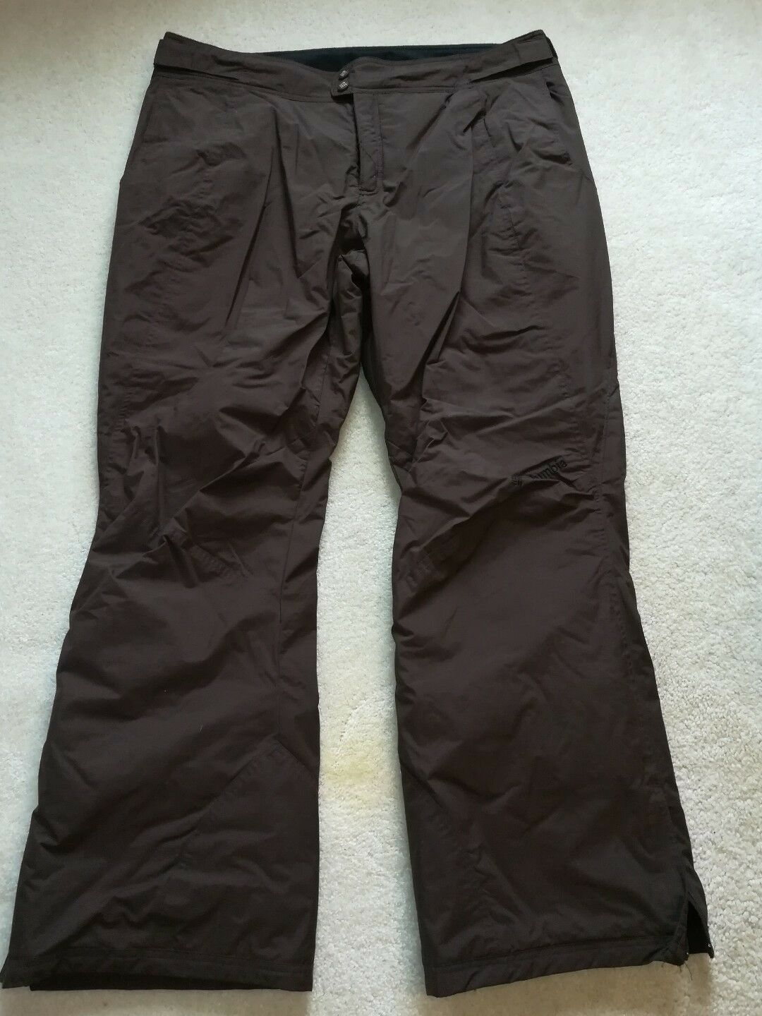 Columbia Men's Arctic Ski Snow Pants  Brown XL