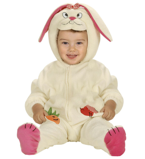 ff6fb36d8 Toddler Bunny Rabbit Chick Costume Boys Girls Easter Fancy Dress ...