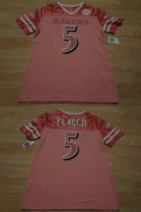 Details about Youth Girls Baltimore Ravens Joe Flacco L (10/12) NWT Jersey (Pink) Jersey