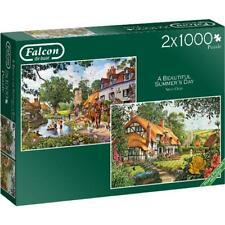 2 x 1000 pc jigsaw puzzles