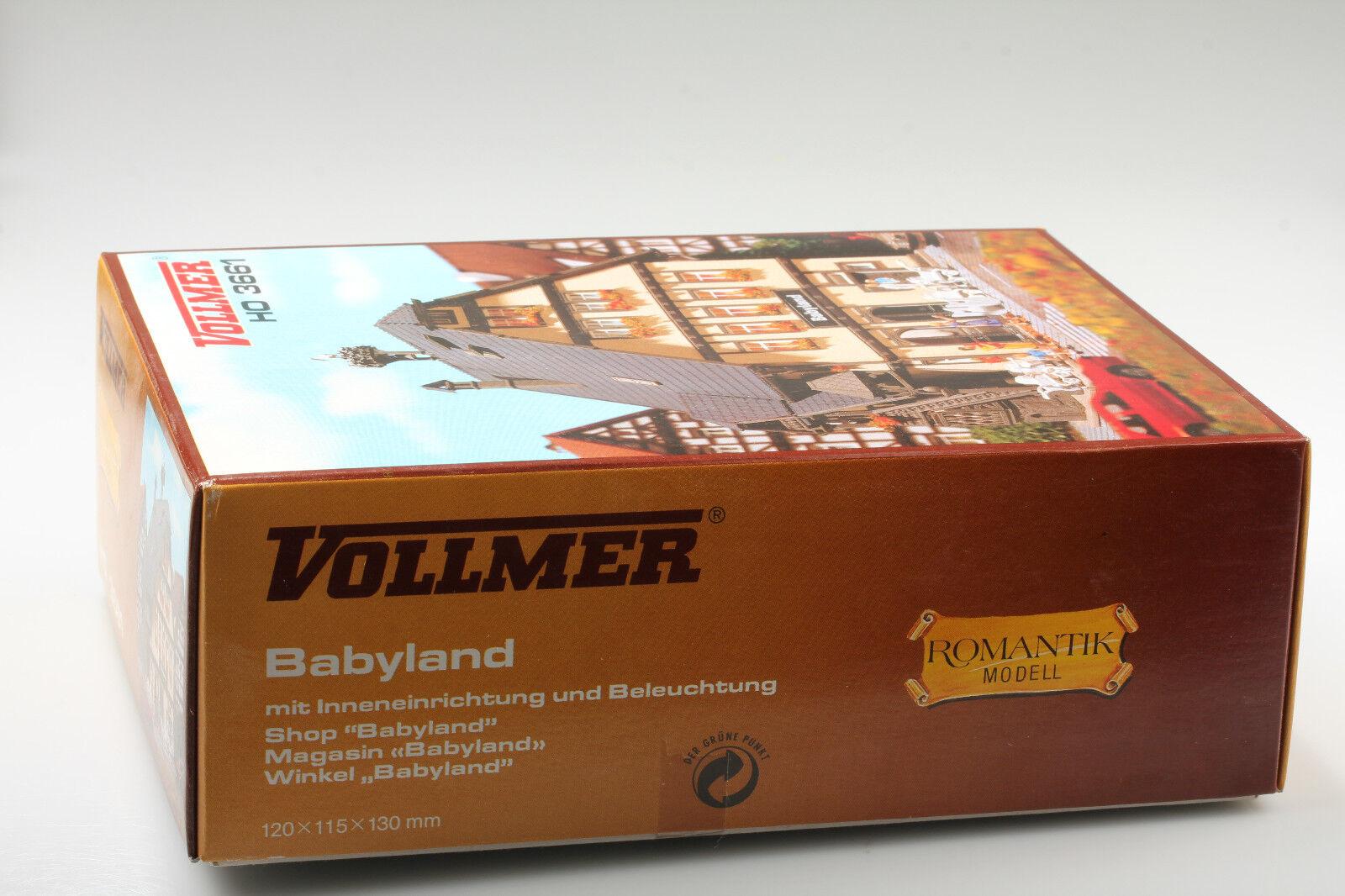 Vollmer H0  Grazioso Casa D'Affari   Babyland  H0  Conf. Orig. da Ferroviere dc20d3