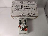 Keeley 4-knob Compressor C4 Effects Pedal Custom Tattoo Finish Edition 1