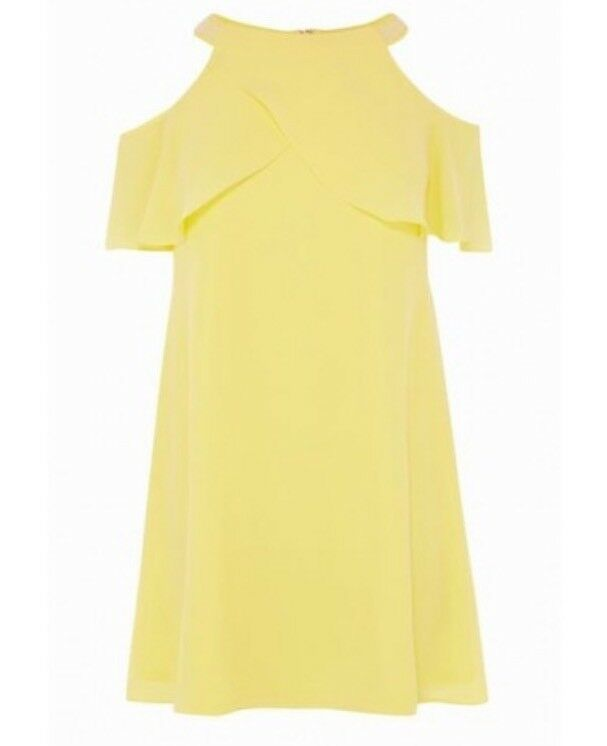 Gorgeous Coast (size ) Marley-Anne Trim Trim Trim Dress , Lemon. Bnwt 0f23d2