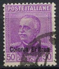 Eritrea 1928-1929 SG#125, 50c Bright Purple Used #A92420