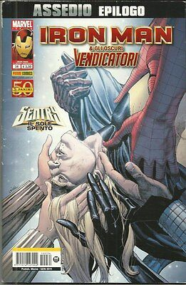 IRON MAN & GLI OSCURI VENDICATORI n° 34 (Panini Comics, 2011) i potenti