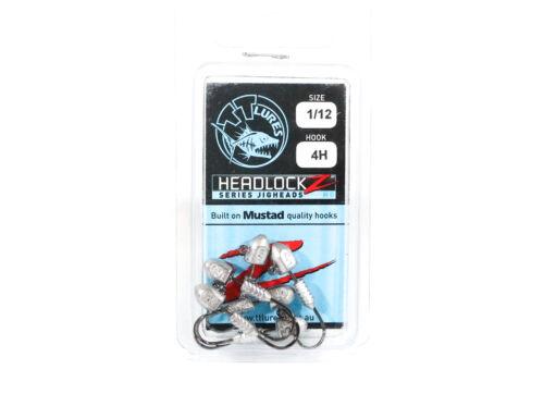 3498 Tackle Tactics TT Headlockz HD Jig Head 1//12 oz 4 H 6 per pack