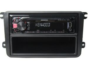 usb mp3 rds autoradio radio vw golf 5 6 polo caddy bus 4 x 50 watt set kenwood ebay. Black Bedroom Furniture Sets. Home Design Ideas
