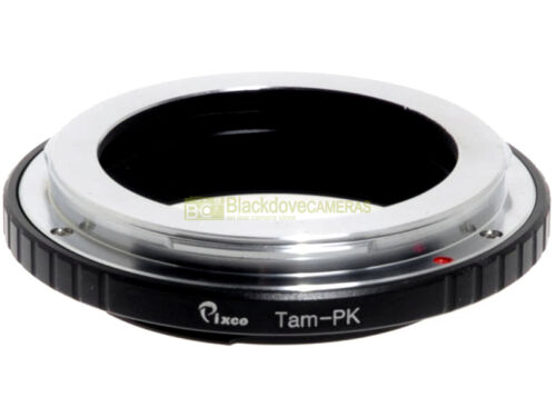 Adapter per montare obiettivi Tamron Adaptall su corpi Pentax K. Adattatore.
