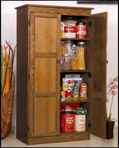 wooden kitchen storage cabinets wooden 2 door storage pantry kitchen wood cabinet w 29472