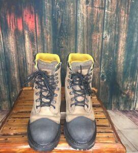 537c90b95d3 Details about Men's Chinook Brown / Black Tarantula Lace Up Work Boots Sz: 9