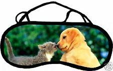 Masque de sommeil cache yeux anti lumière fatigue chat personnalisable REF 34
