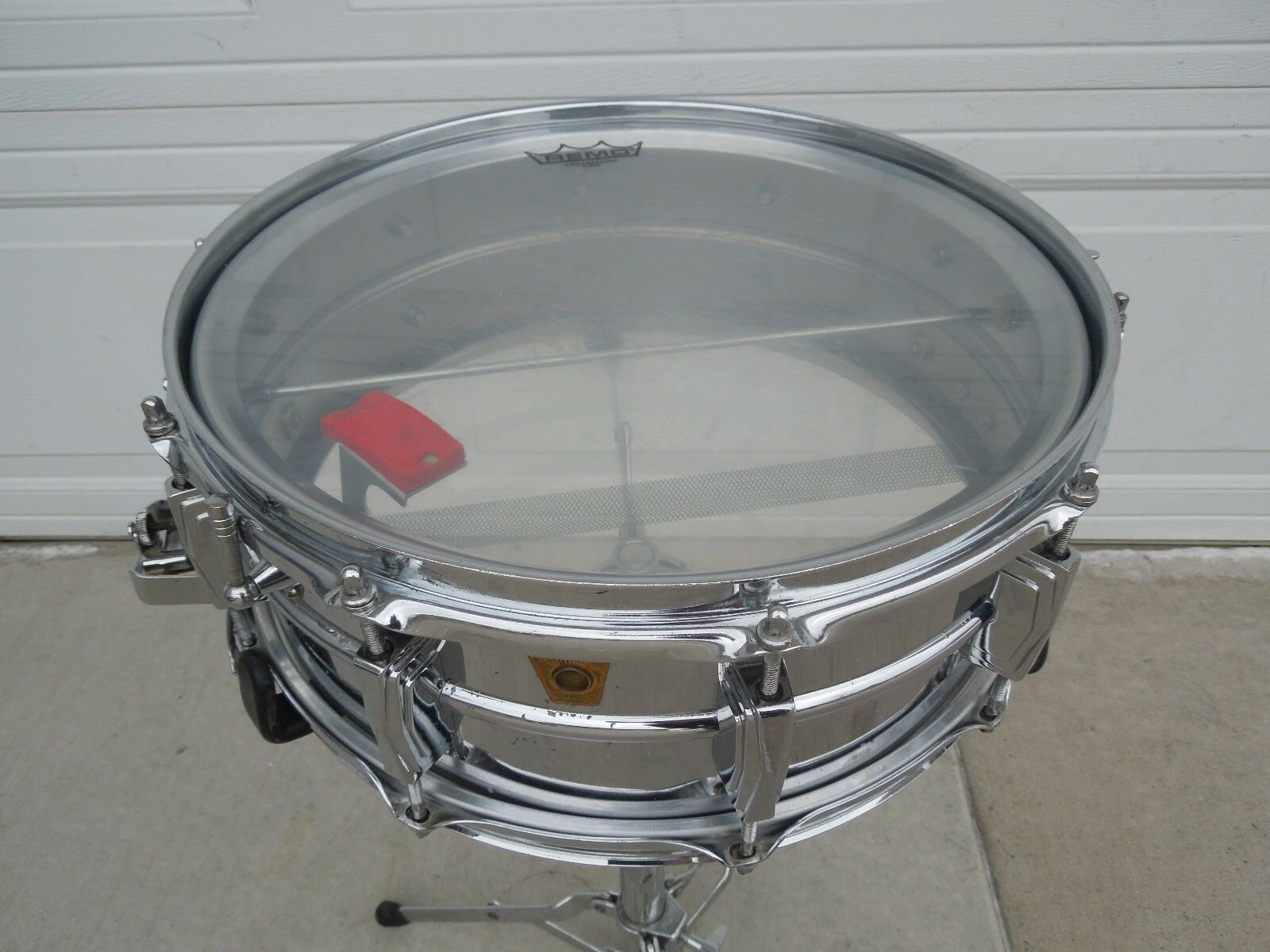 Ludwig Vintage Supraphonic Super Sensitive snare drum early1960'S, awesome drum