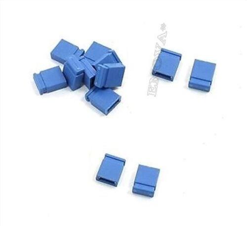 100 Stücke Jumper Kurzschlusskappe Verbindung Blau Mini 2.54MM Neue Ic hs