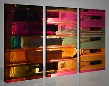Quadri moderni canvas CRAZY BOTTLE stampe su tela immagini cocktail bar 130 x 90