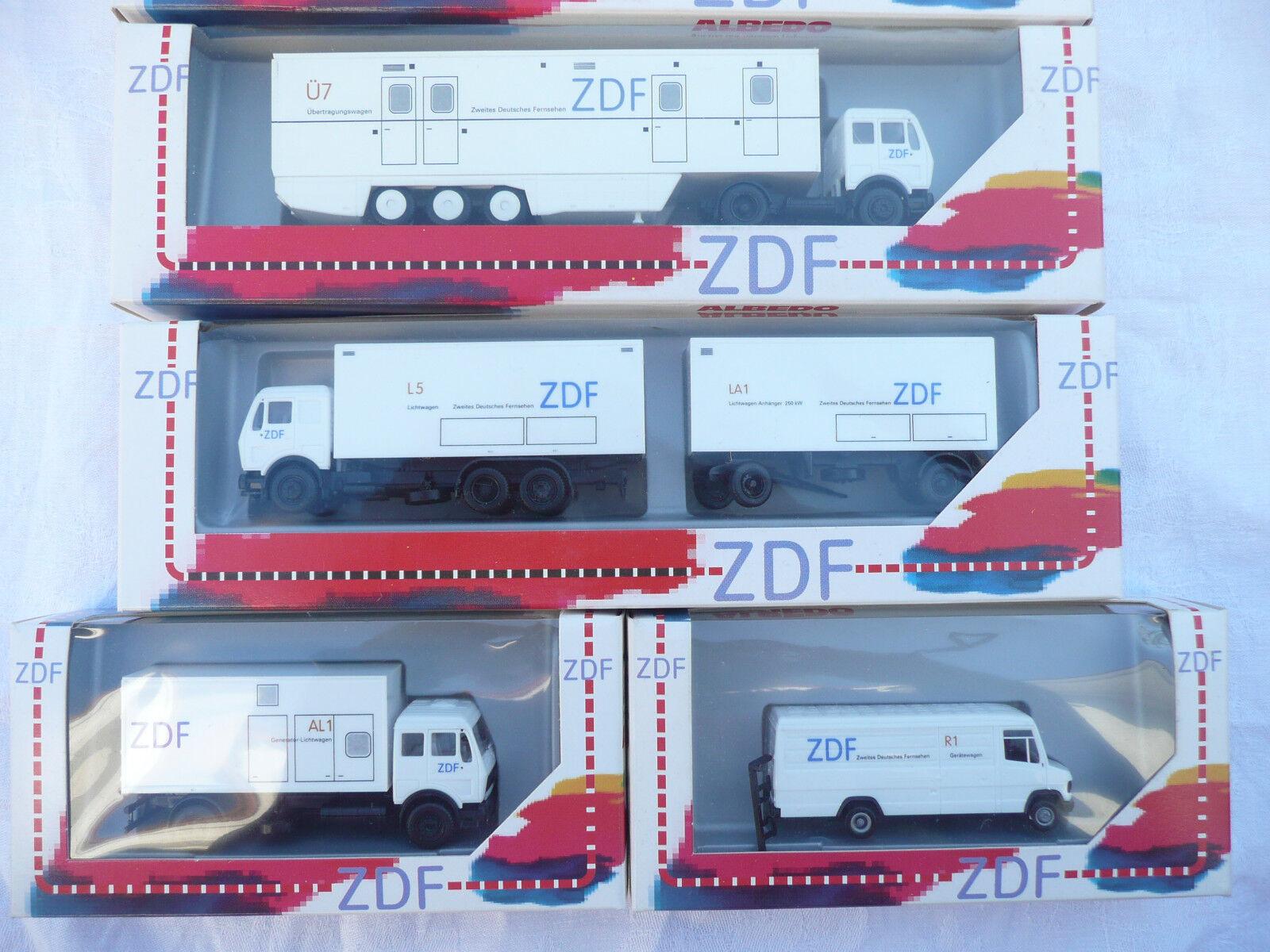 moda Albedo ZDF 6 piezas, kit de escala fahrzeugset fahrzeugset fahrzeugset 1 87  tienda en linea