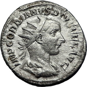 GORDIAN-III-Genuine-Ancient-241AD-Rome-Silver-Roman-Coin-Farnese-HERCULES-i70064