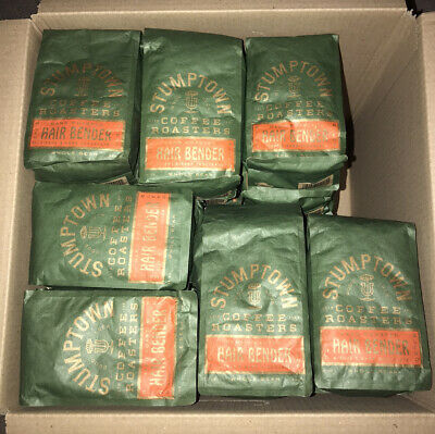 35 New Stumptown Coffee Roaster 12 Oz Each Whole Bean Hair Bender Ebay