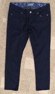 gamba scuro Jeans Rise Junior 28 Gamba Womens Classic Taglia Drive Skyline Blu Paige 640fwTqv4