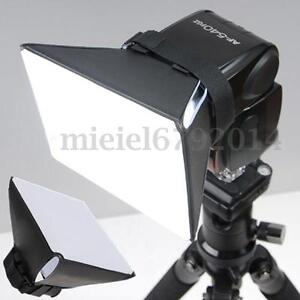 Universal Studio Flash Diffuser Softbox Speedlite for Canon Nikon Sony Camera 909982326767
